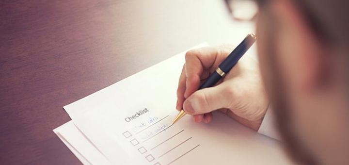 Developer Checklist - ApexCreate